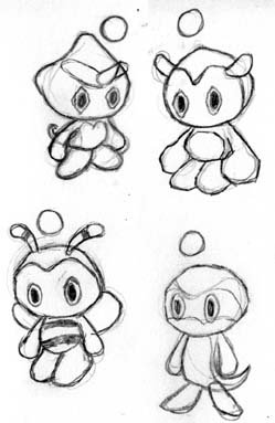 Download colouring pages! - Chao Island   383x249