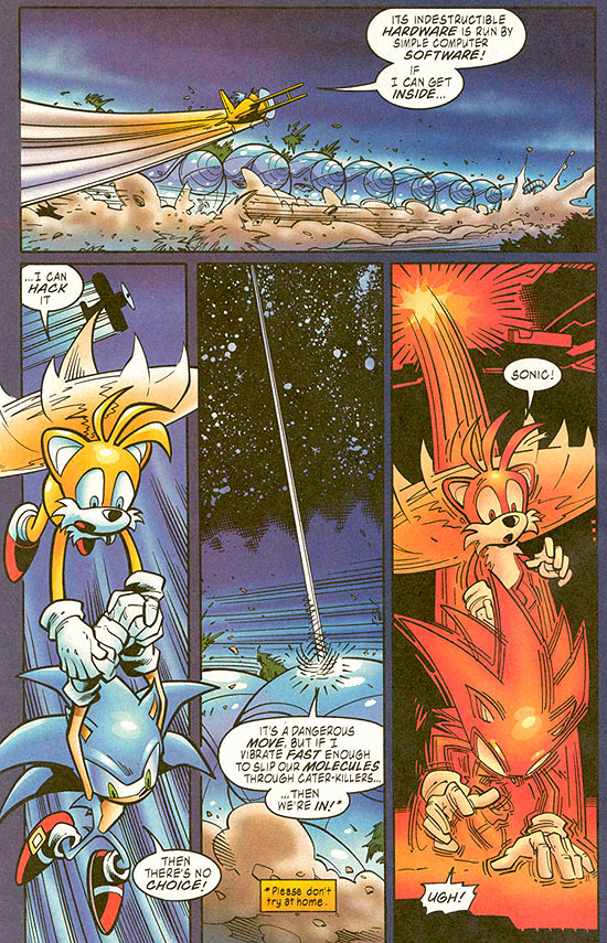 Sonic The Hedgehog Archie Comics Funny Tv Tropes