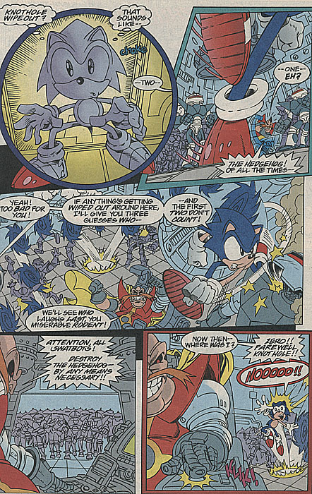 Archie Comics' Sonic the Hedgehog / Tear Jerker - TV Tropes