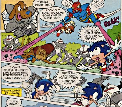 Sonic Hq Comic Scans Sonic The Hedgehog